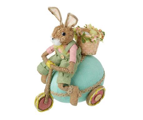 Decoratiune Rabbit With Scooter