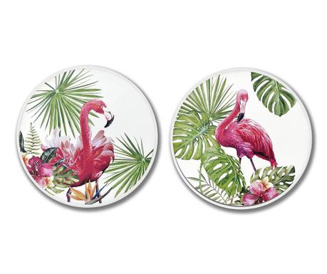Jungle Flamingo 2 db Kép 60 cm