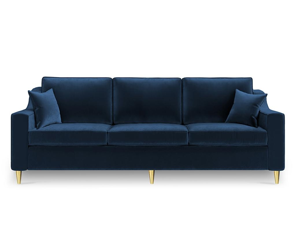 Canapea extensibila 3 locuri Marigold Royal Blue