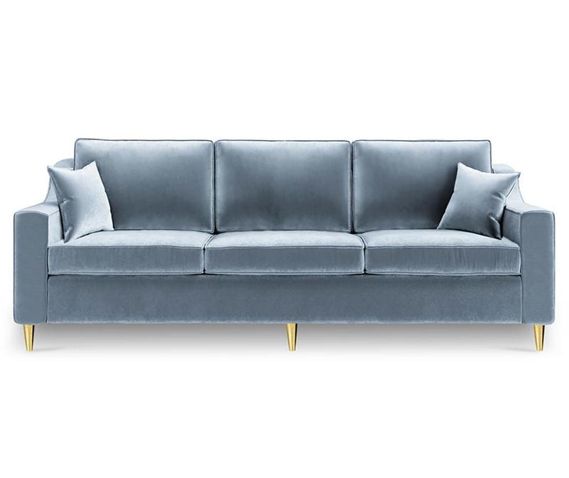 Raztegljiv trosed Marigold Gray Blue