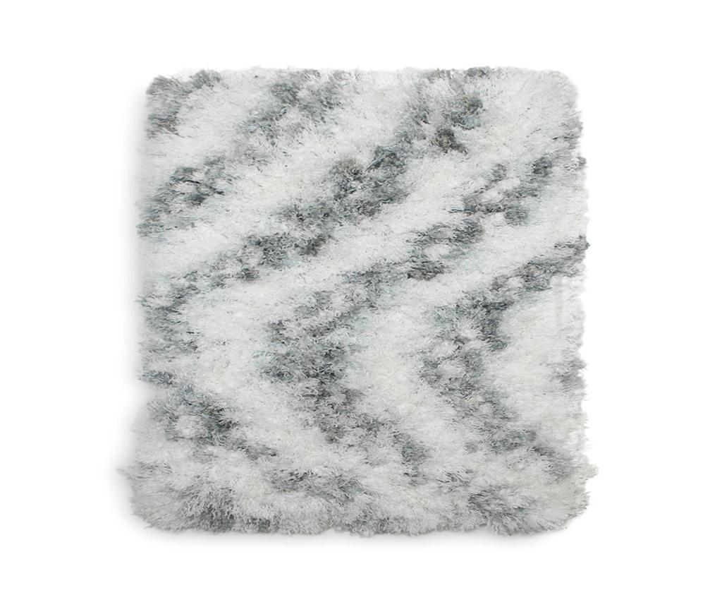Selah Light Grey Fürdőszobai szőnyeg 60x60 cm