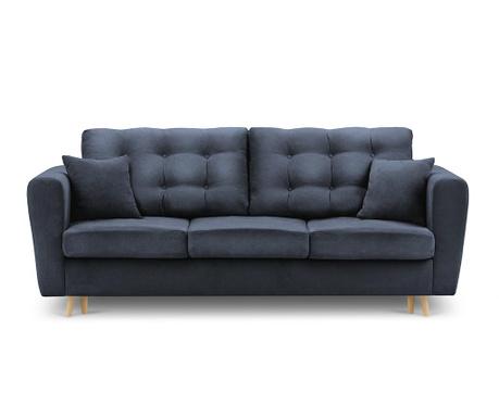 Canapea extensibila 3 locuri Highlife Blue