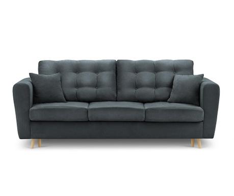 Canapea extensibila 3 locuri Highlife Gray Blue
