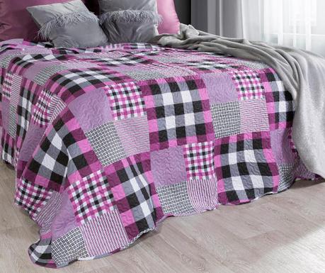 Haley Pink Steppelt ágytakaró 220x240 cm