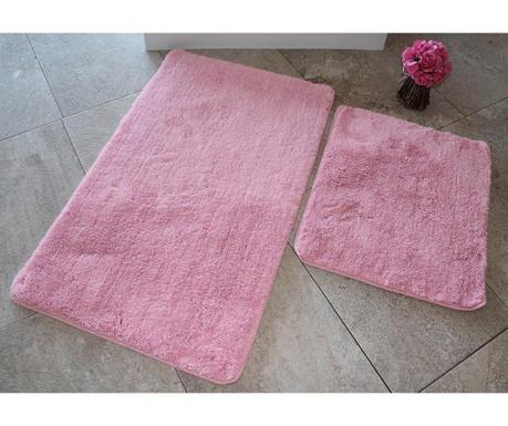 Set 2 covorase de baie Manilla Light Pink