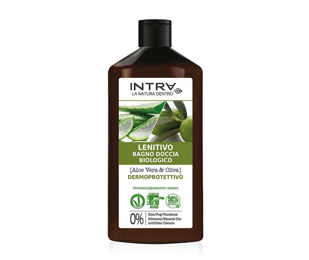Organski gel za tuširanje Dermo Protective Aloe&Olive 400 ml