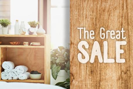 The Great Sale: Μπάνιο και οργάνωση