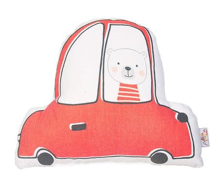 Perna decorativa Car Teddy Red 25x30 cm