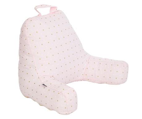 Perna de spatar pentru copii Dots Pink 45x60 cm