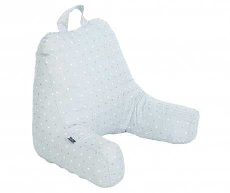 Perna de spatar pentru copii Dots Grey 45x60 cm