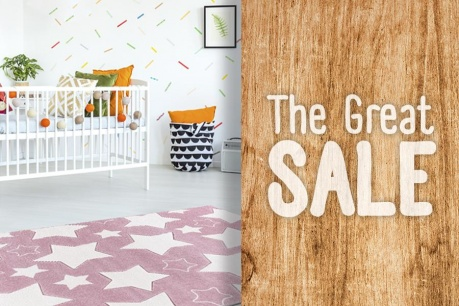 The Great Sale: Dywany dziecięce
