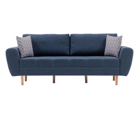 Canapea 3 locuri Igor Dark Blue