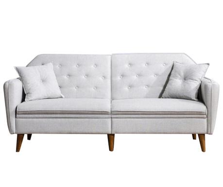 Canapea extensibila 3 locuri Susan Cream