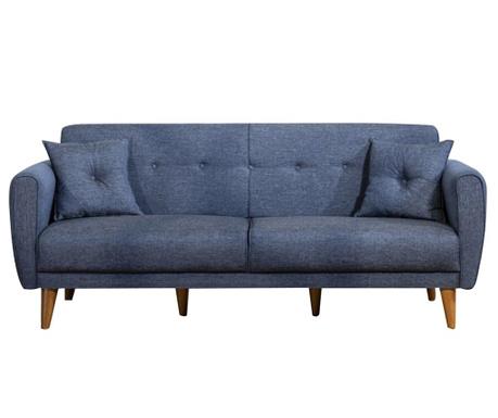 Canapea 3 locuri Omani Dark Blue
