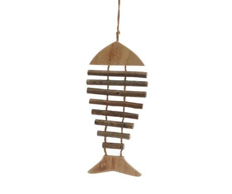 Decoratiune suspendabila Fishbone Brown