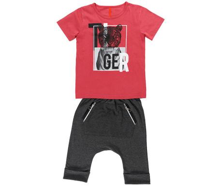 Set tricou si pantaloni copii Tiger 5 ani