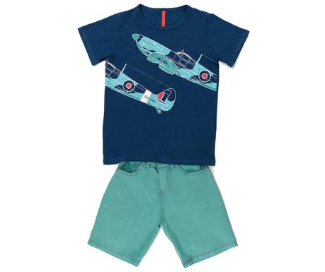 Sada detské tričko a krátke nohavice Aircraft