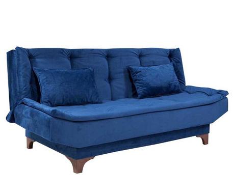 Canapea extensibila 3 locuri Clara Blue