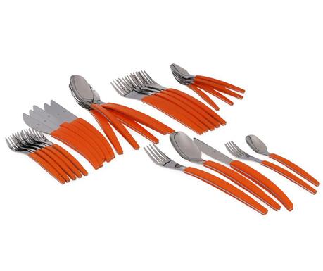 Set tacamuri 30 piese Colors Orange
