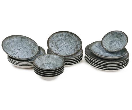 Set de masa 24 piese Trunk Blue