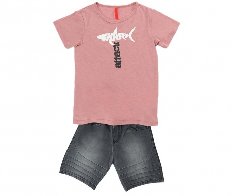 Sada detské tričko a krátke nohavice Shark