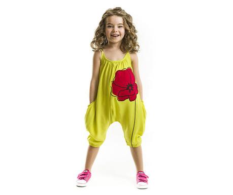Salopeta fara maneci copii Poppy 3 ani