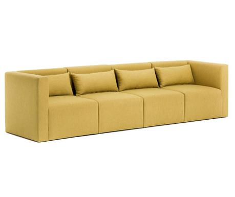 Canapea modulara 4 locuri Plus Yellow