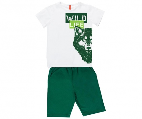 Sada detské tričko a krátke nohavice Wild Wolf