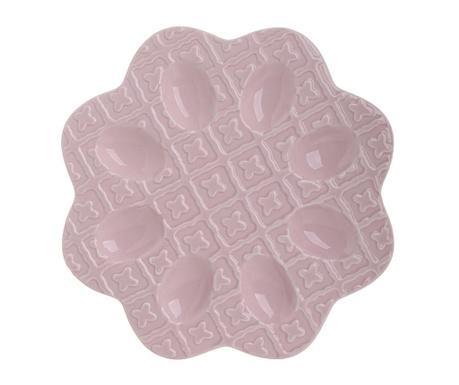 Platou pentru oua Avi Pink