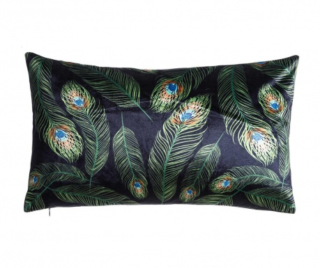 Perna decorativa Peacock Feathers 30x50 cm