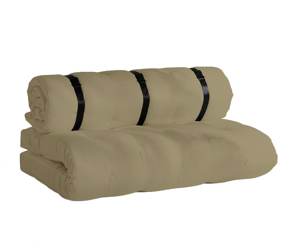 Sofa extensibila pentru exterior Buckle Up Out Beige 140x200 cm