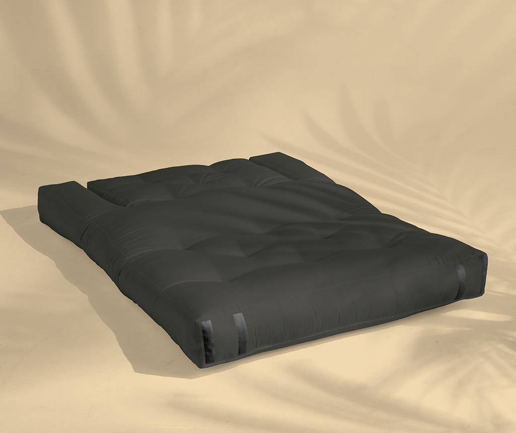 Sofa extensibila pentru exterior Hippo Out Dark Grey 140x200 cm