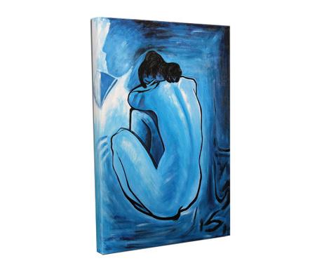 Tablou Sad Woman 30x40 cm