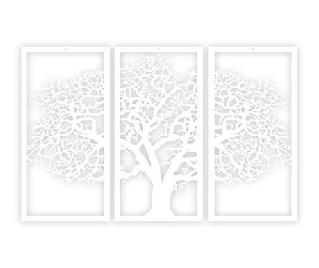 Decoratiune de perete White tree