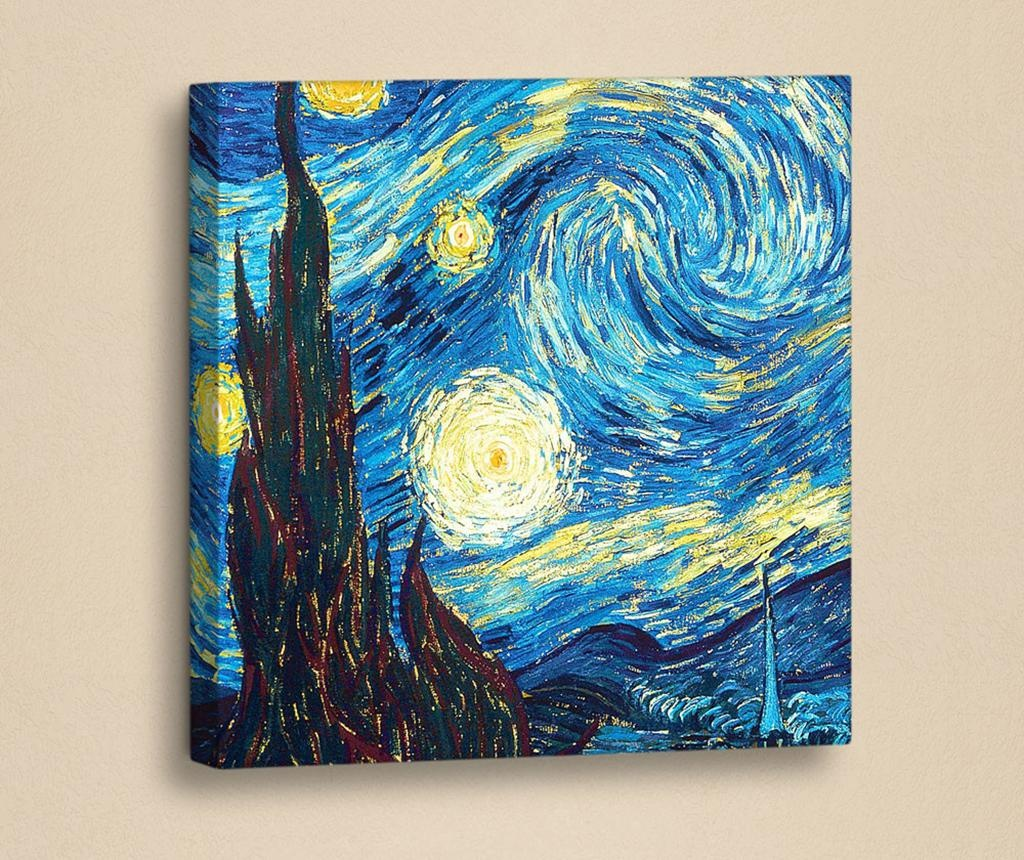 Tablou Starry Night Glimpse 33x33 cm