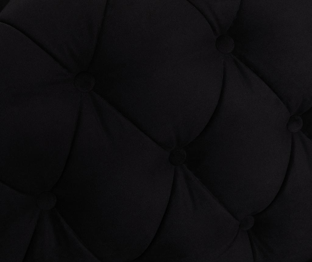 Chesterfield Black Négyszemélyes szófa