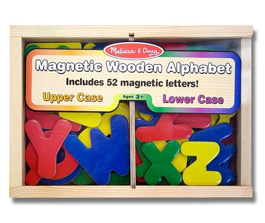 Set 52 magnetnih črk in škatle Spelling