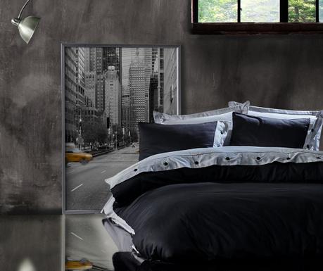Спално бельо King Satin Supreme Ali Grey Black