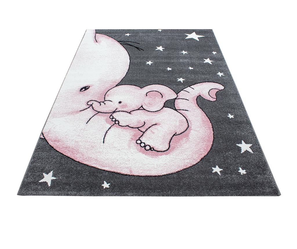 Koberec Baby Elephant Pink 120x170 cm