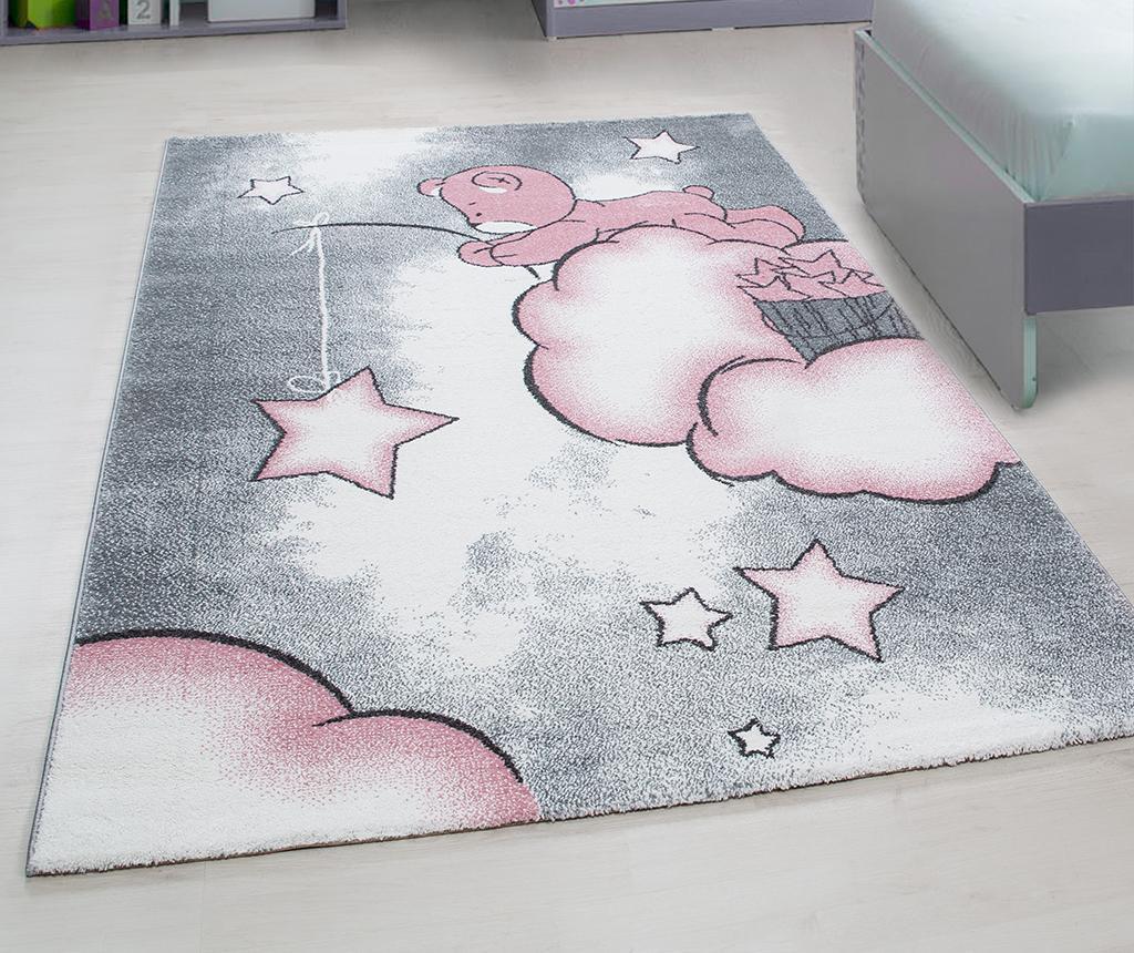 Koberec Teddy Bear Pink 80x150 cm