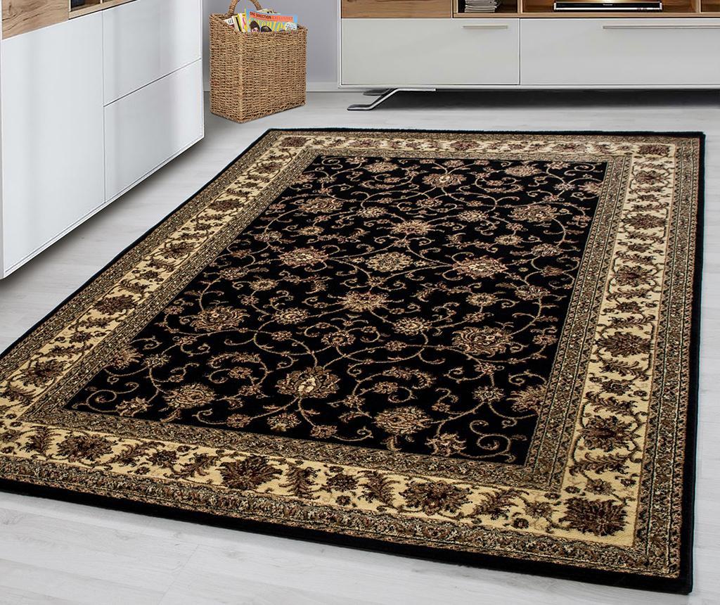 Koberec Marrakesh Badran Black 80x150 cm