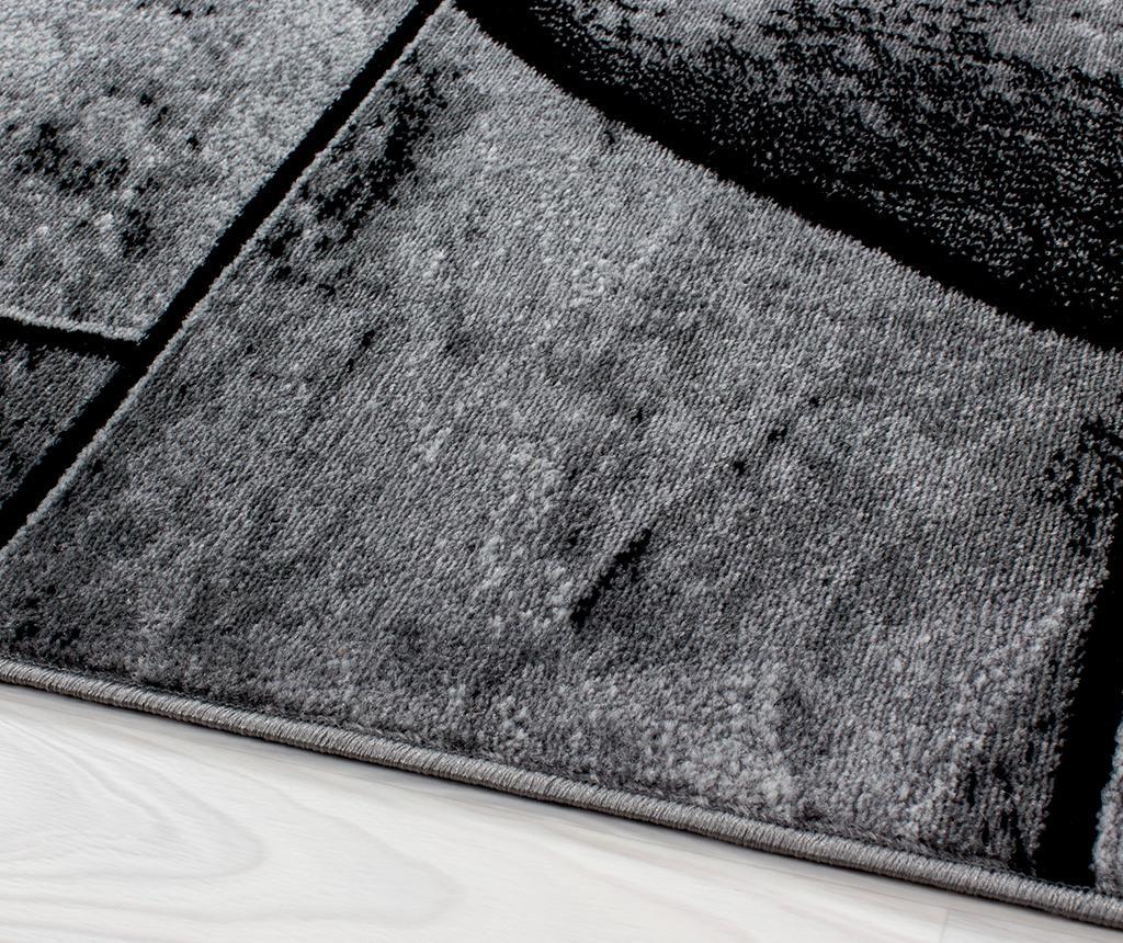 Koberec Parma Bricks Black 80x150 cm