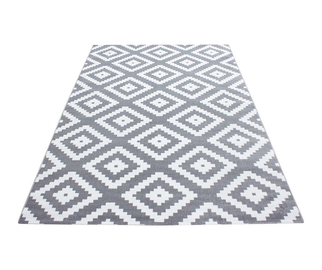 Koberec Plus Diamond Grey 80x150 cm
