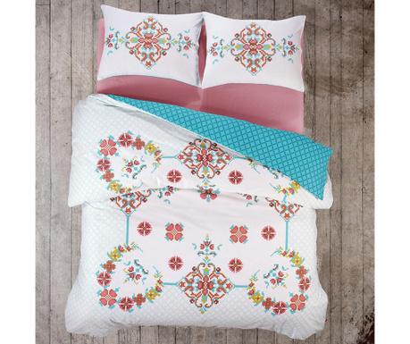 Спално бельо Single Ranforce Gulcehre Pink