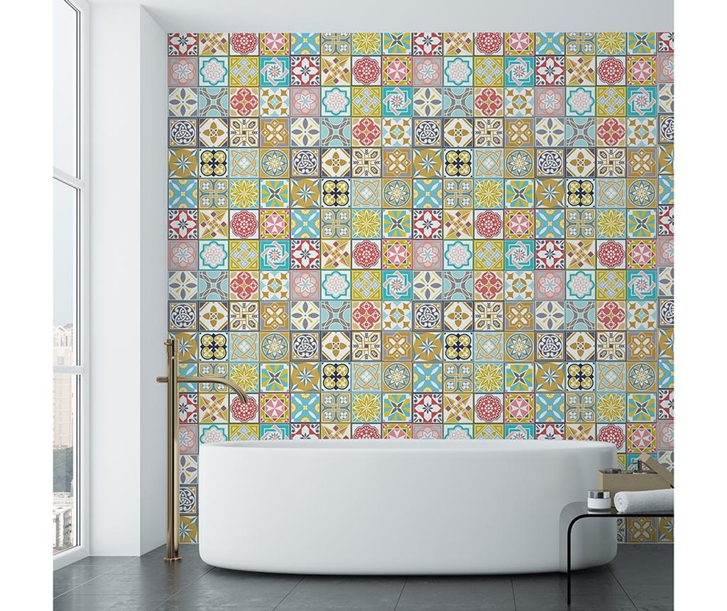 Set 24 nalepk Malia Colorful Home Tiles