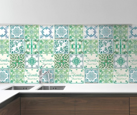 Tiles French Quote 24 db Matrica