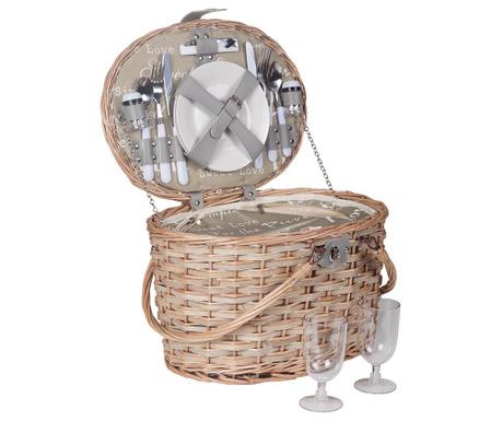 Cos echipat pentru picnic 2 persoane Sailor
