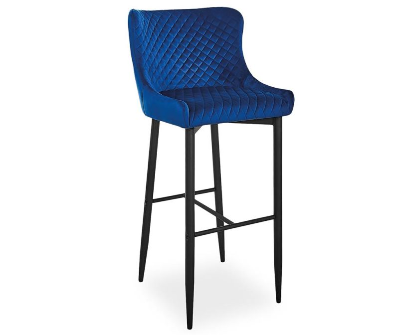 Scaun de bar Bluvel Dark Blue