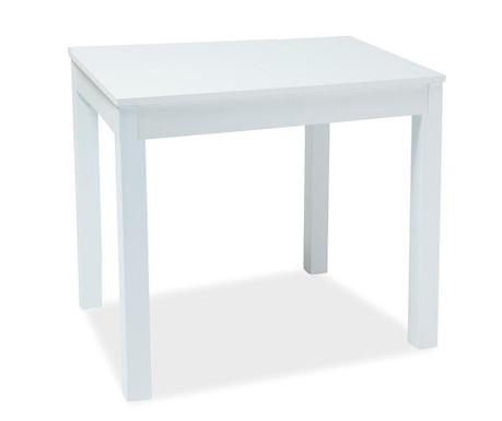 Calzia White Kihúzható asztal
