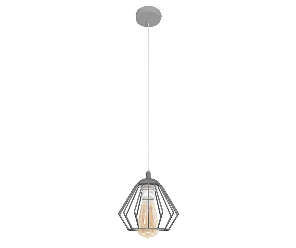 Závěsná lampa Agat Grey